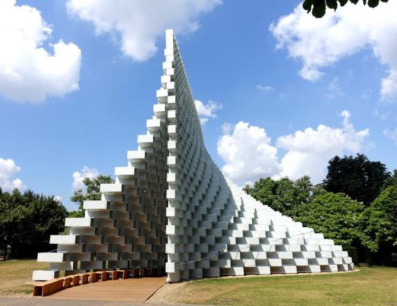 Bjarke Ingels: Serpentine Pavillion