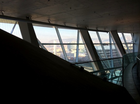 Mercedes-Benz Museum: Architektur