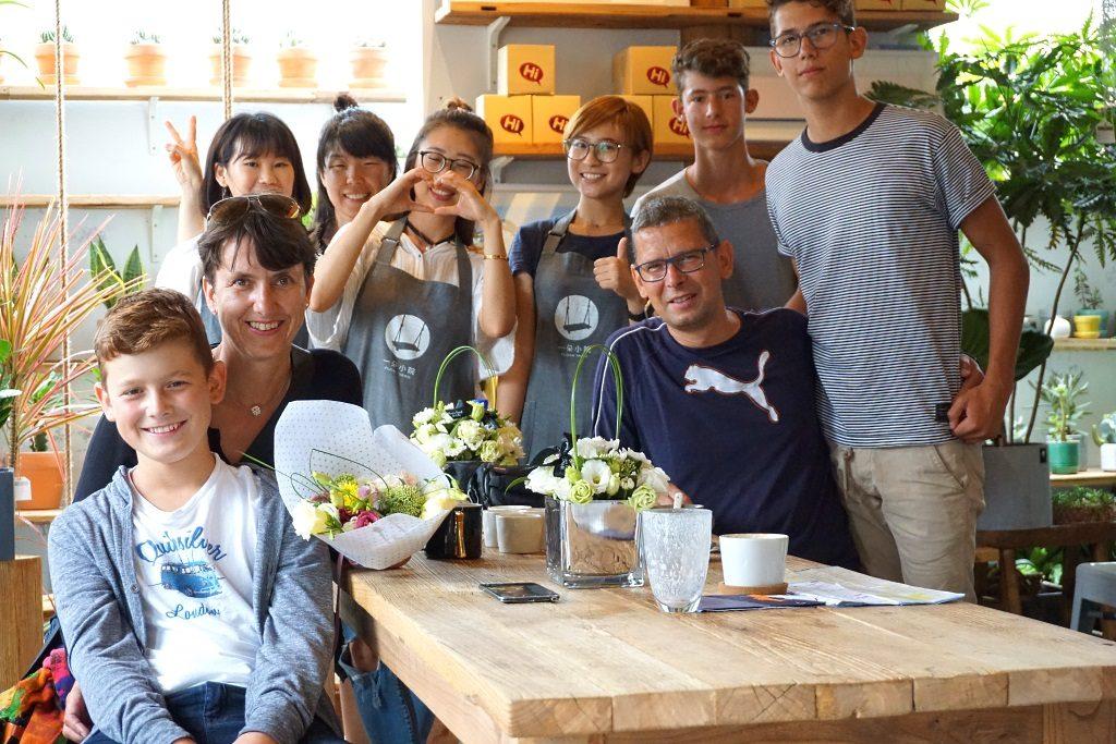 Café in China