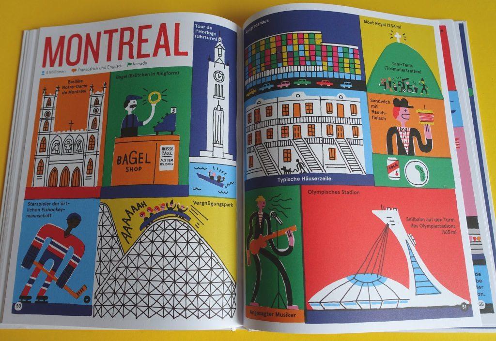 """Montéal - aus dem Bilderbuch """"Metropolen"""" von Benoît Tardif"""