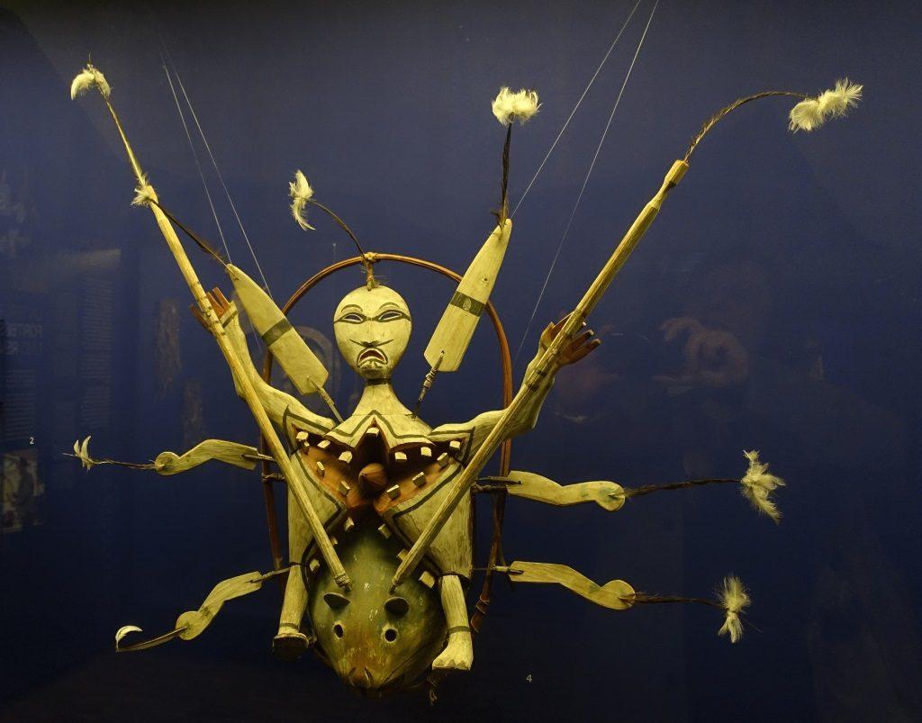 Schamanenmaske Inuit Alaska