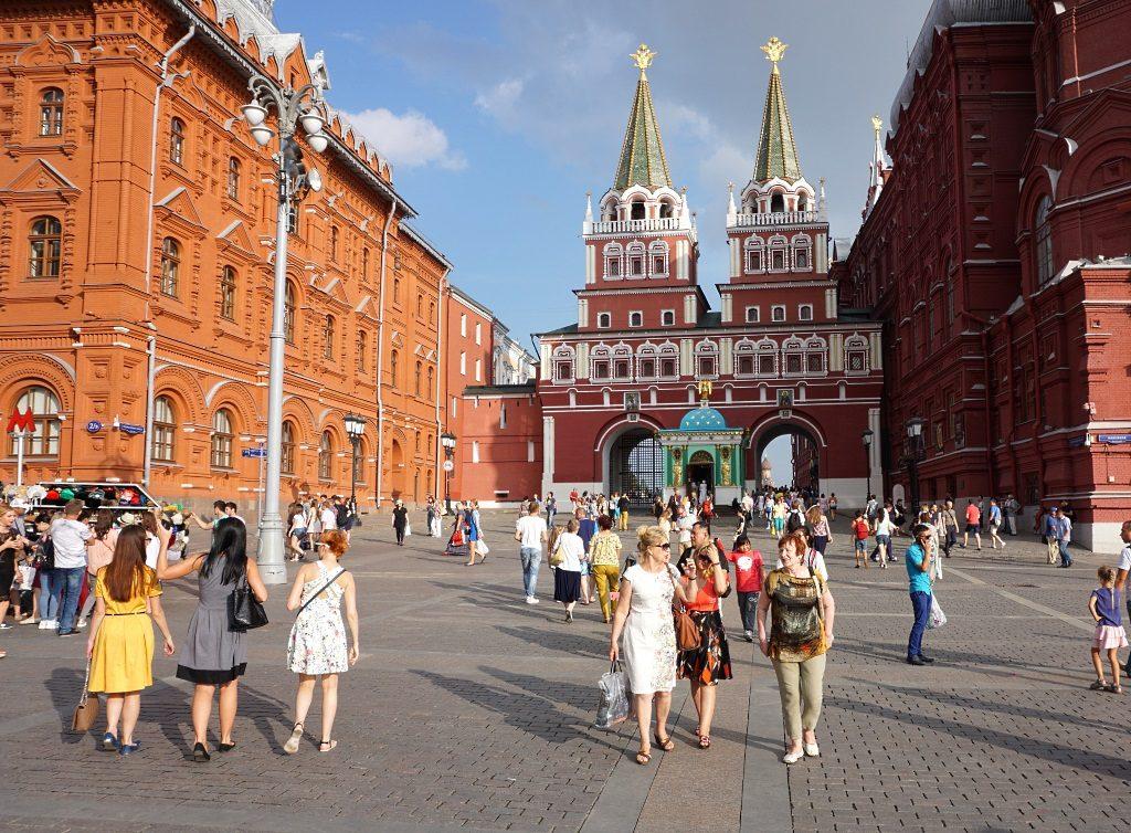 Moskau mit Kindern