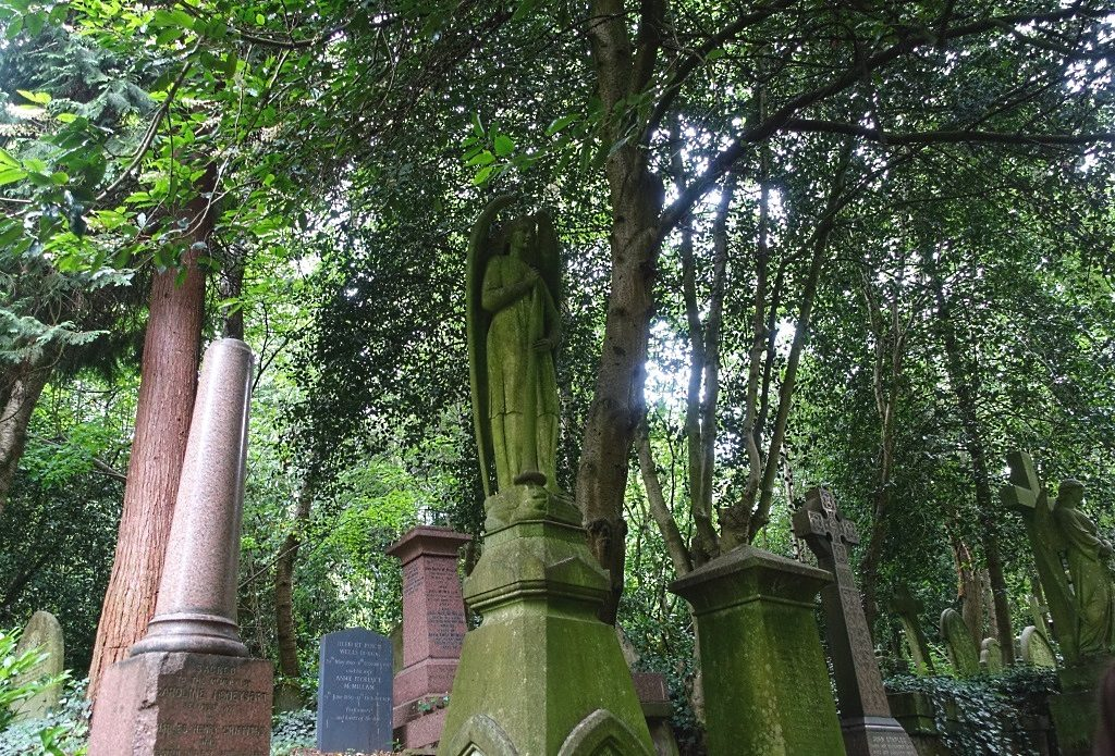 London mit Teenagern: Highgate Cemetery