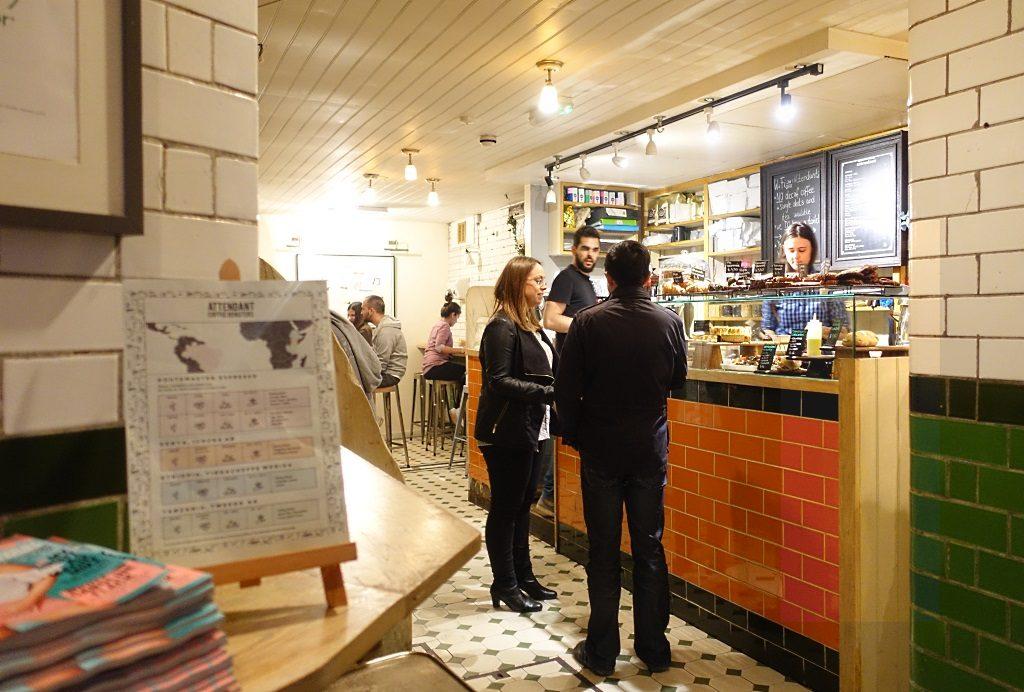 The Attendant Café London, Foley Street