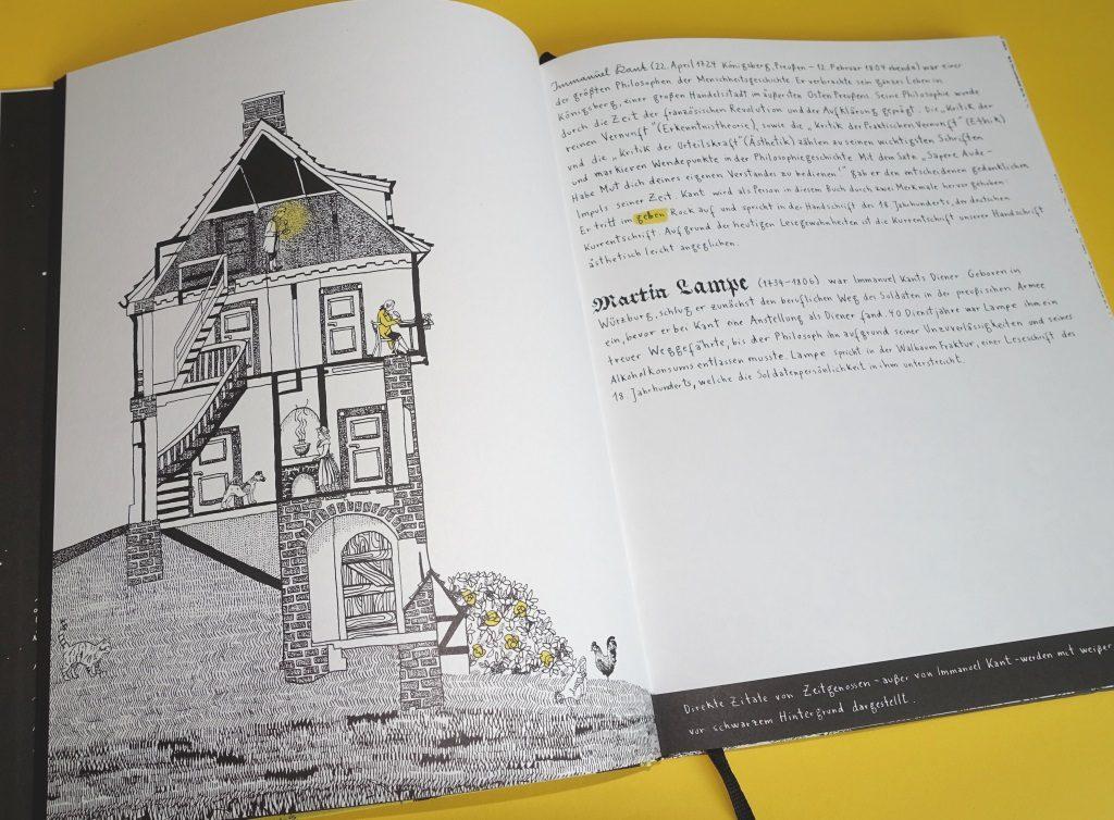 Lampe und sein Meister Immanuel Kant - Graphic Novel