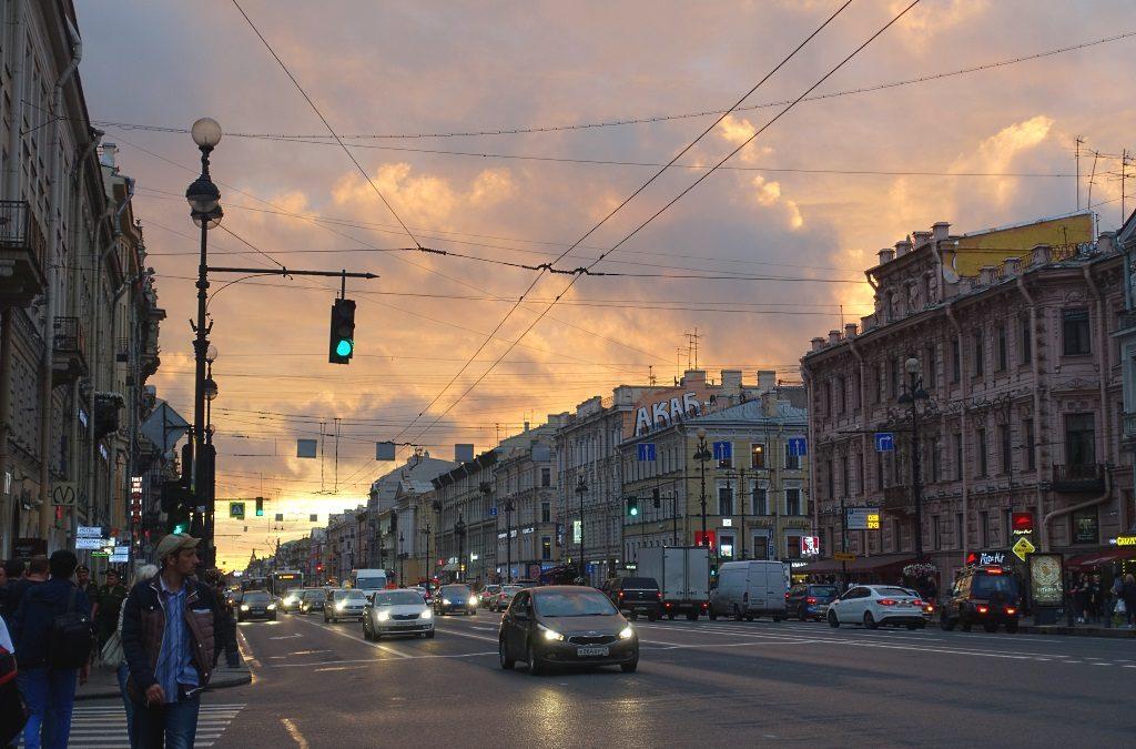 Sankt Petersburg am Abend