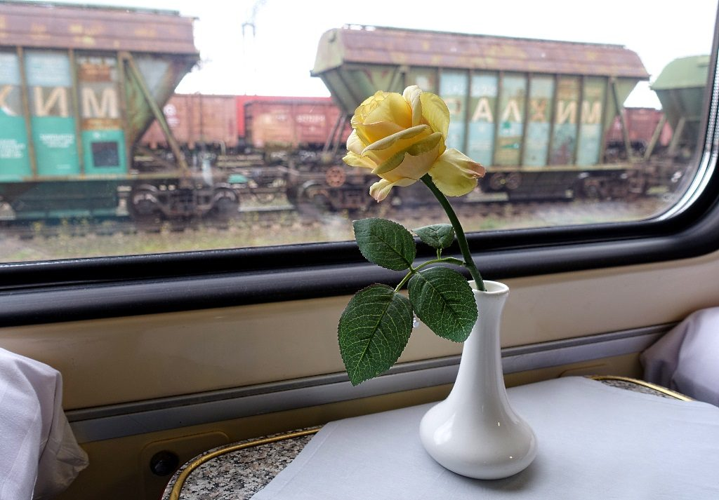 Train travel Russia