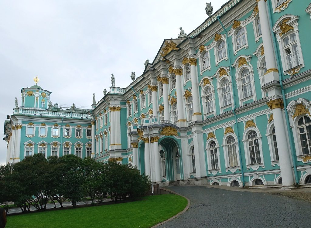St. Petersburg mit Familie: Winterpalast