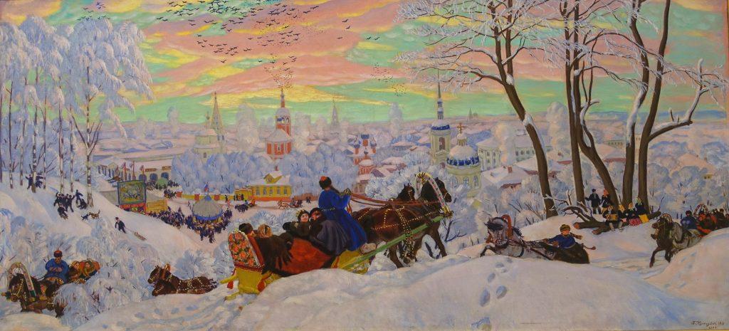 Sankt Petersburg mit Kindern: Russische Kunst