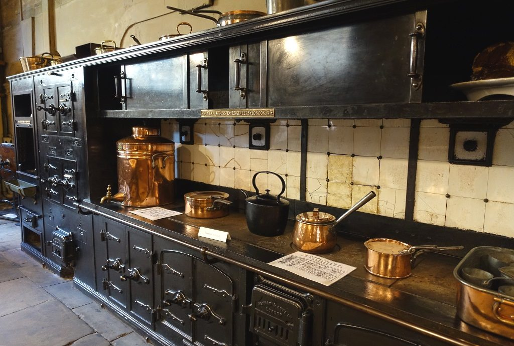 Harewood House: Old Kitchen