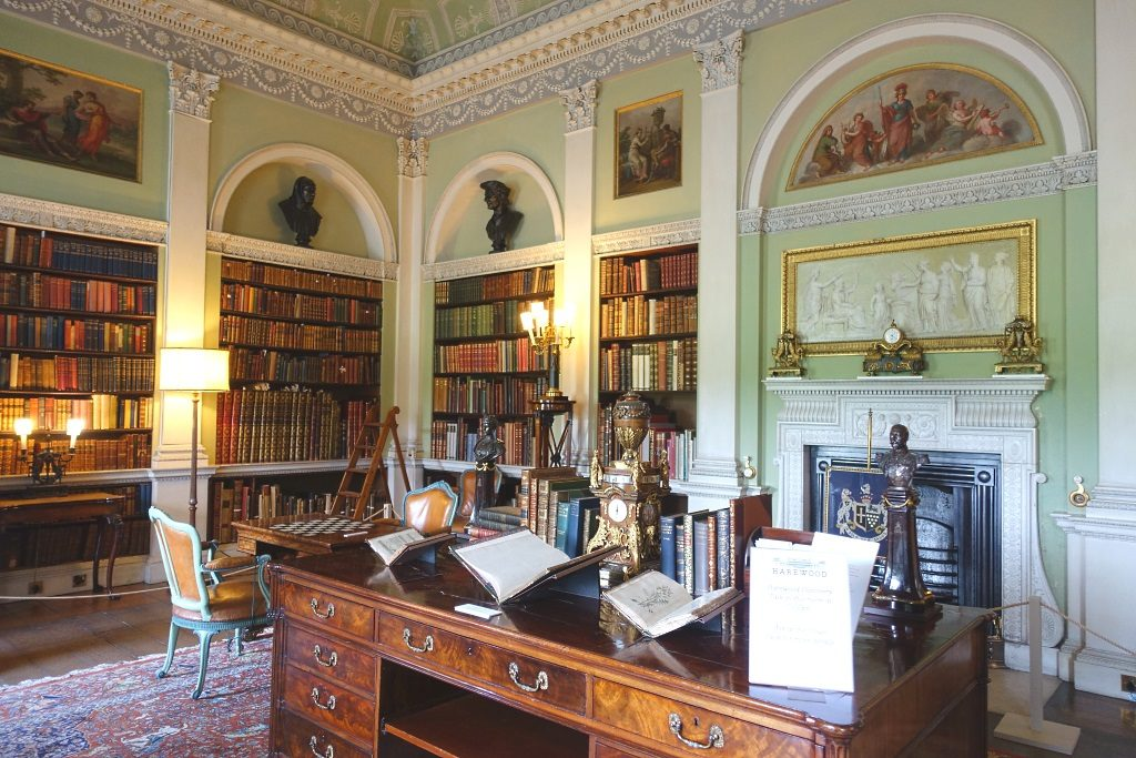 Harewood House: Old Library