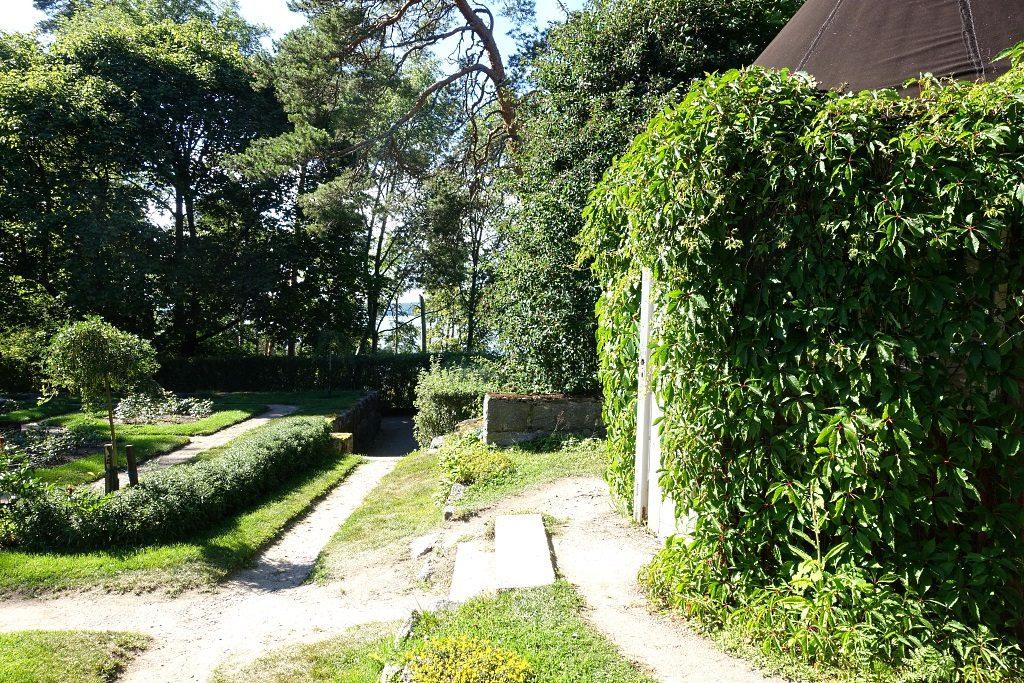 Hvitträsk: Garten