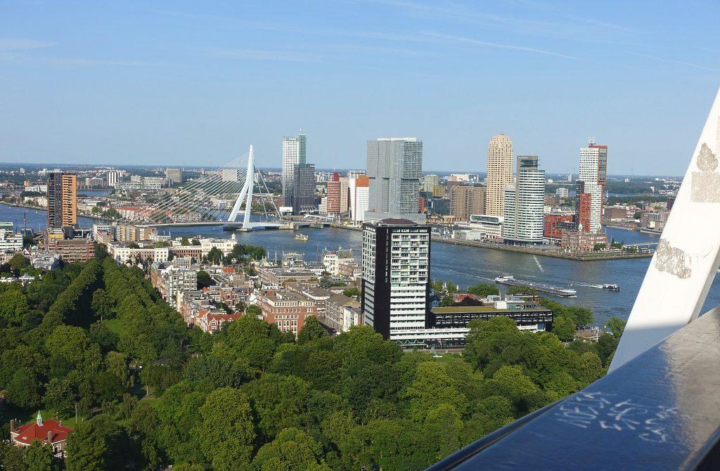Rotterdam von oben