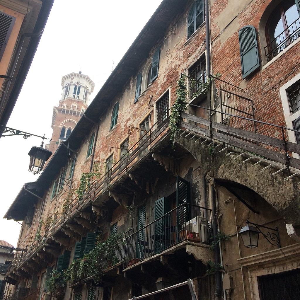 Balconies of Verona