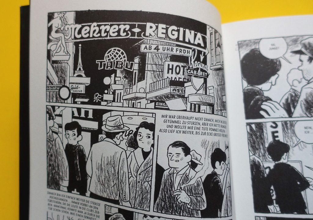 Arne Bellstorf zeichnet die Reeperbahn