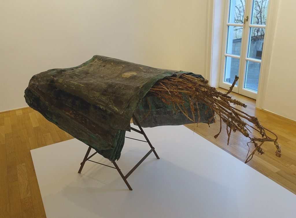 "Anselm Kiefer, Ausstellung ""Buchwelten"""