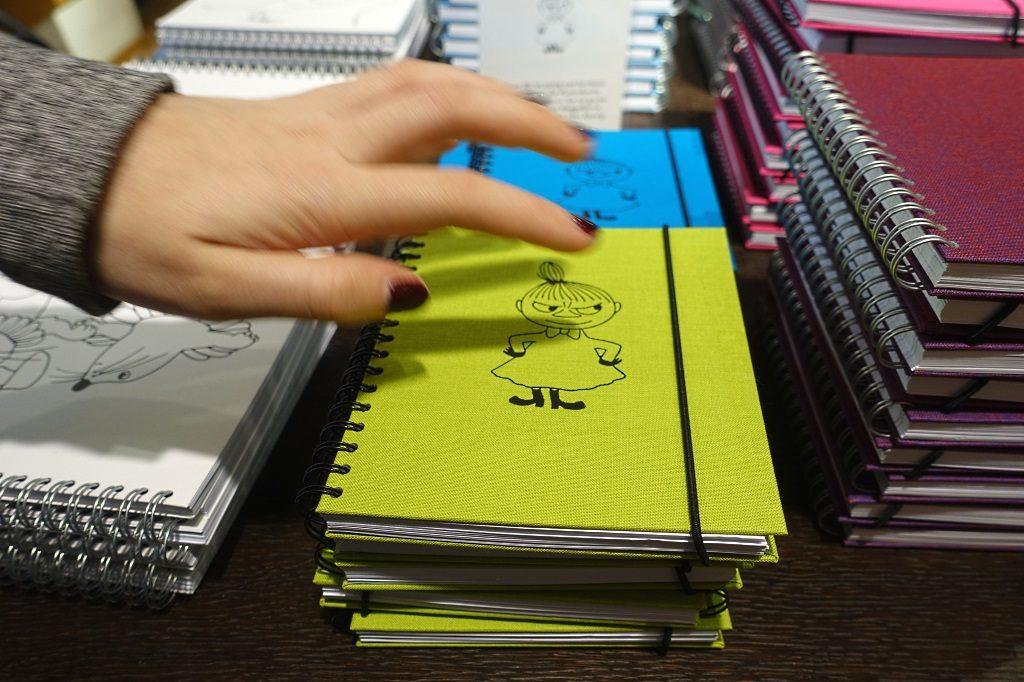 Kleine My, Bookbinders Design