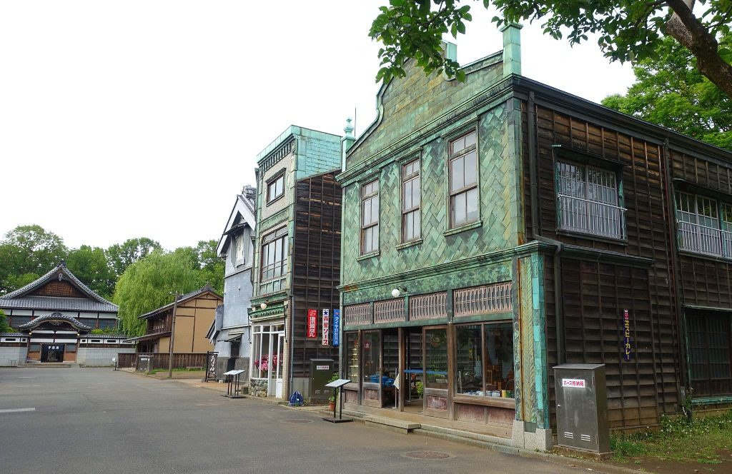 Edo-Tokyo Open-Air Architectural Museum: historical street