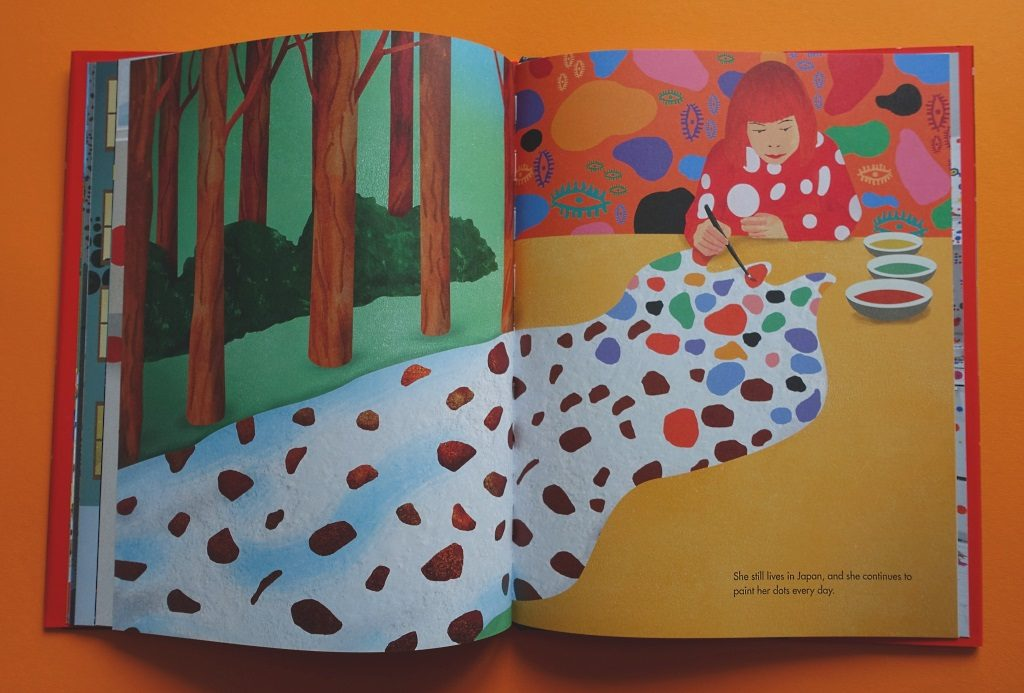Yayoi Kusama children's book