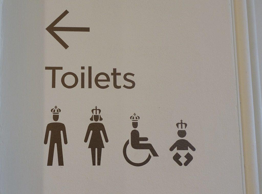 Kensington Palace: signage