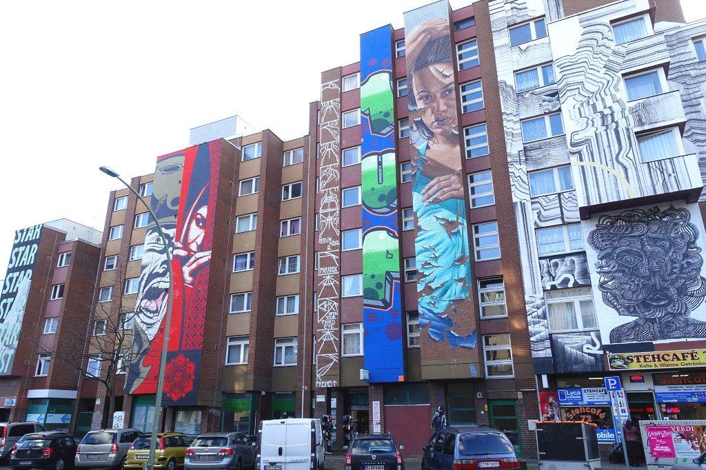 Street Art Bülowstraße Berlin