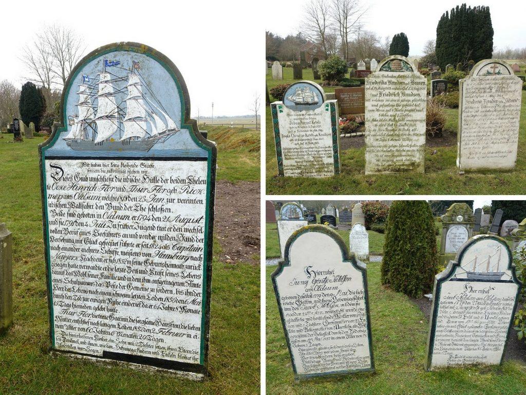 Sprechende Grabsteine: Friedhof Süderende auf Föhr