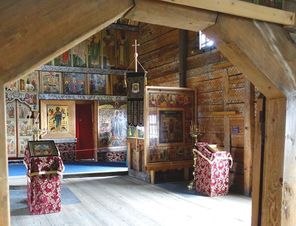 Kishi: Winterkirche Mariä Schutz und Fürbitte