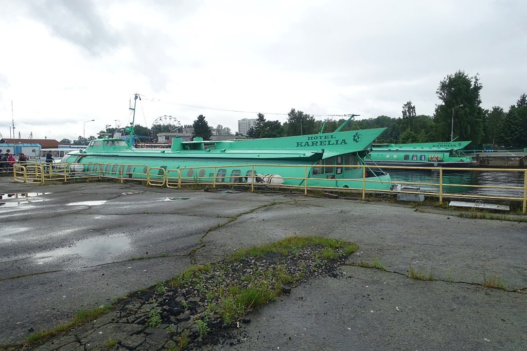 Petrosawodsk - Kishi mti dem Tragflügelboot