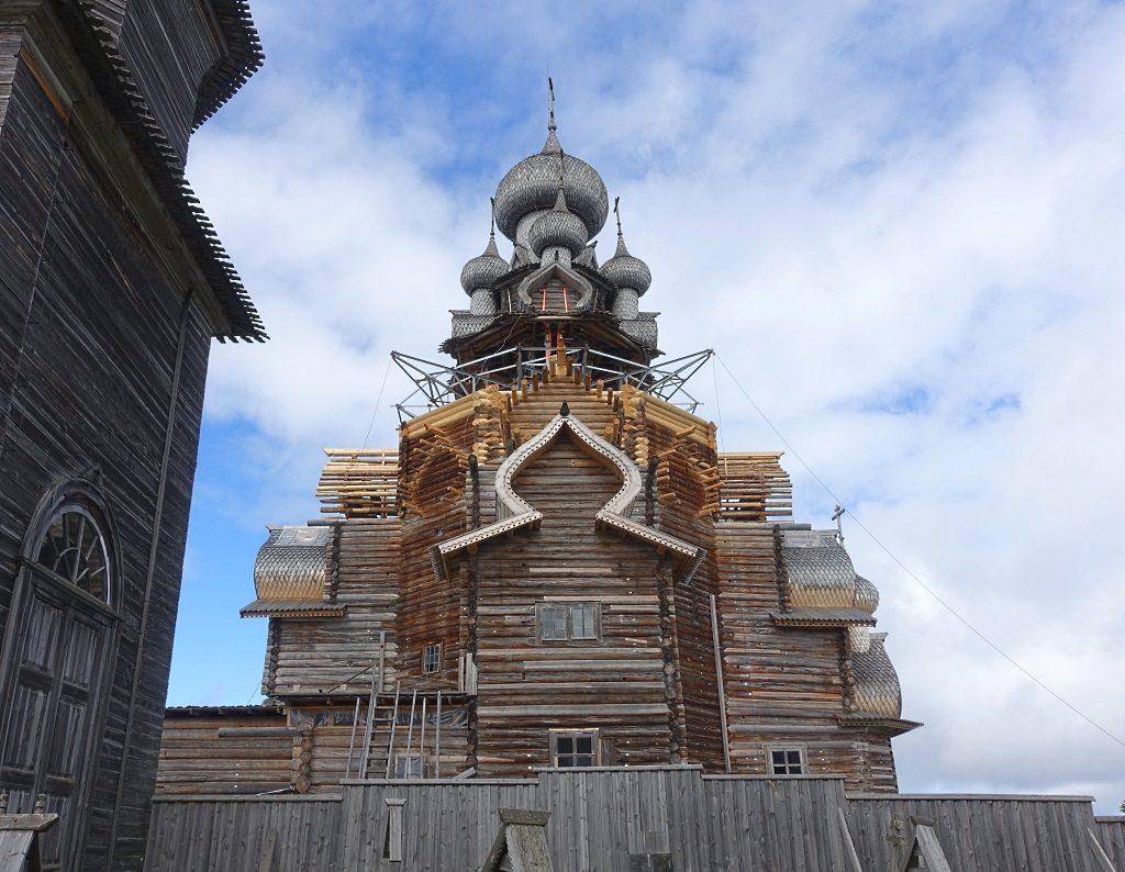 Restaurierung Verklärungskirche Kishi