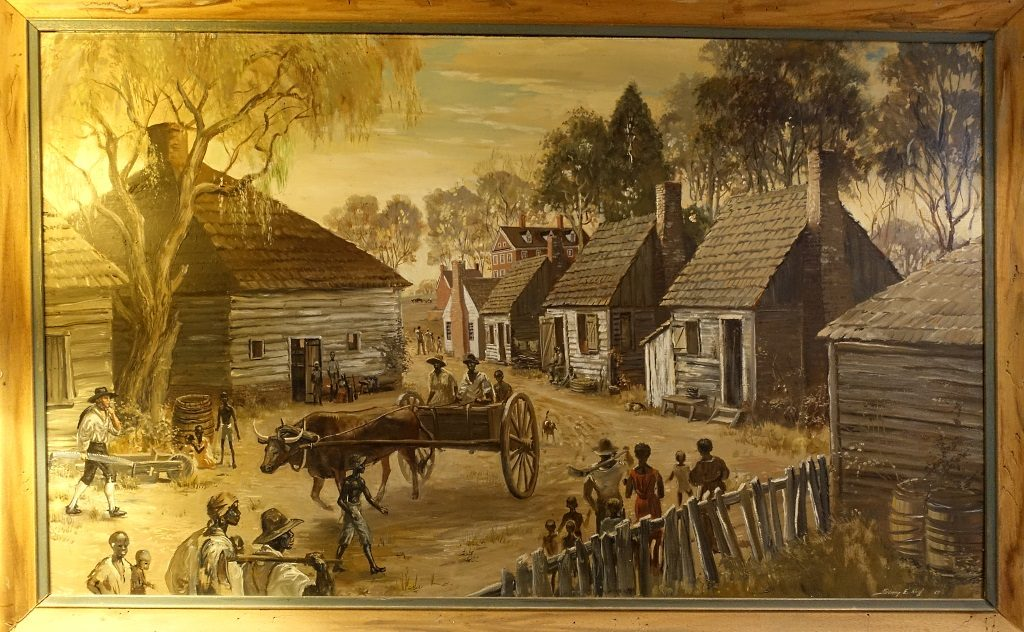 Berkeley Plantation slavery