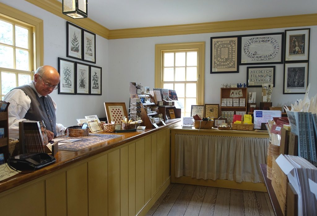 Historical Post Office, Colonial Williamsburg