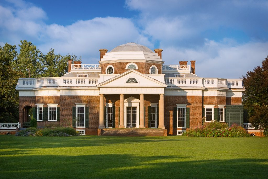 Monticello, UNESCO World Heritage