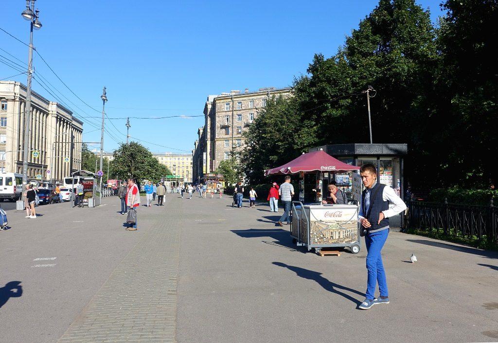 Sankt Petersburg: Moskowskaya Ploschad