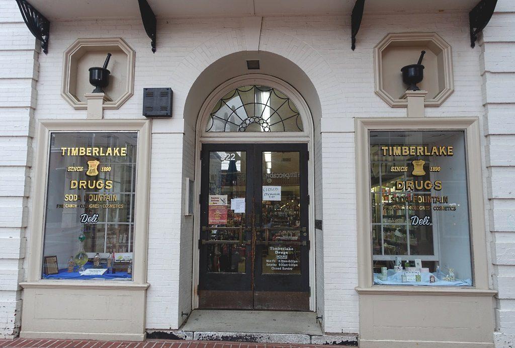 Charlottesville: Timberlake's Drugstore