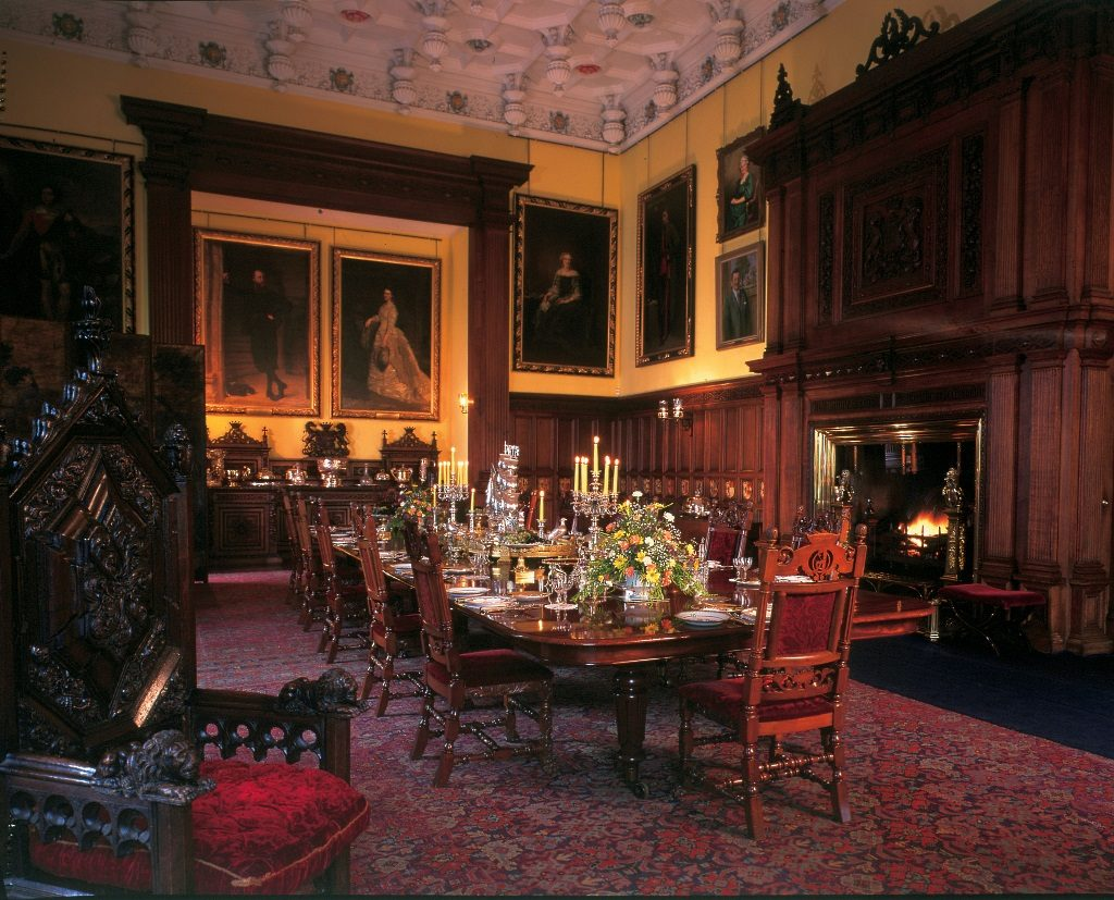 Glamis Castle Dining Room
