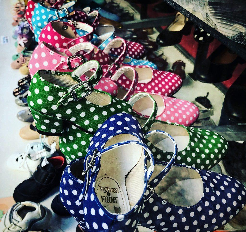 Sevilla: Flamenco-Schuhe