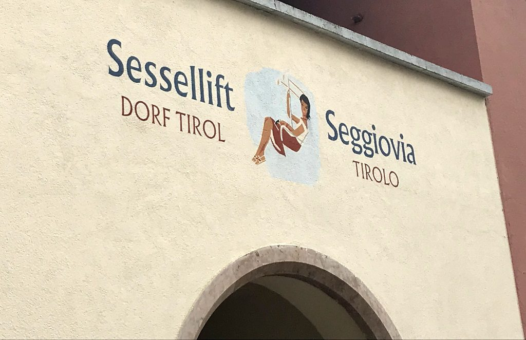 Sessellift Dorf Tirol