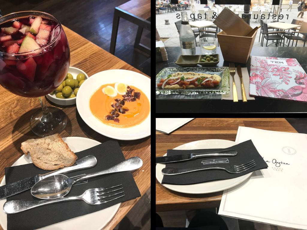 Sevilla Food: Tapas-Bars La Azotea, Miss Tem