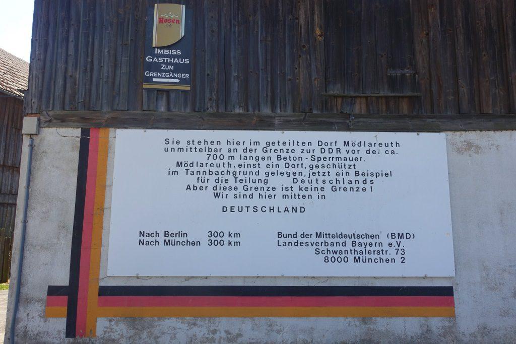 Mödlareuth Westen