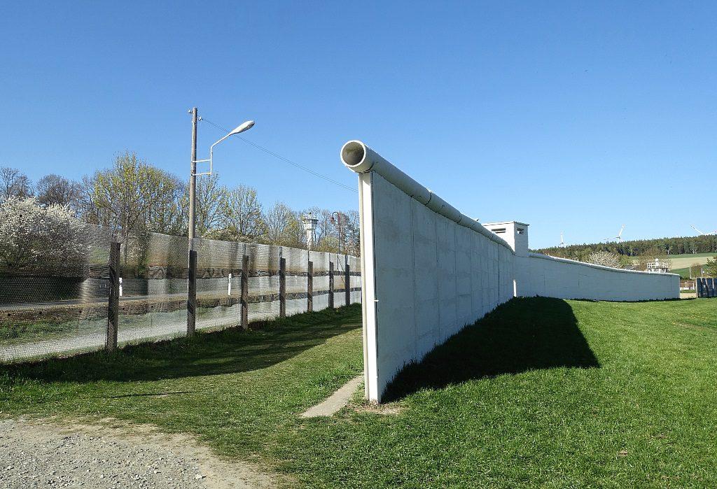 Die Mauer von Mödlareuth