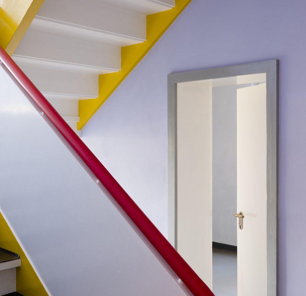 Meisterhäuser Dessau: Treppenhaus Paul Klee