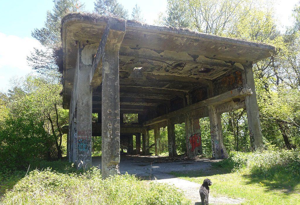 Ruinen Düneberger Pulverfabrik