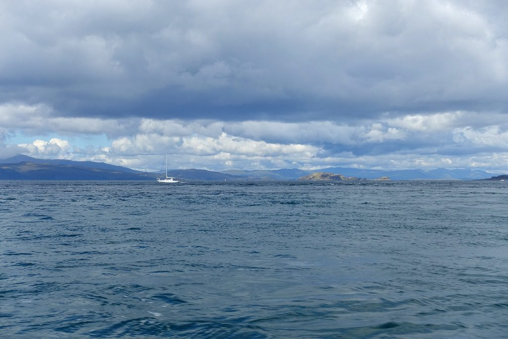 Schottland mit Kindern - per Boot vor der Wesküste