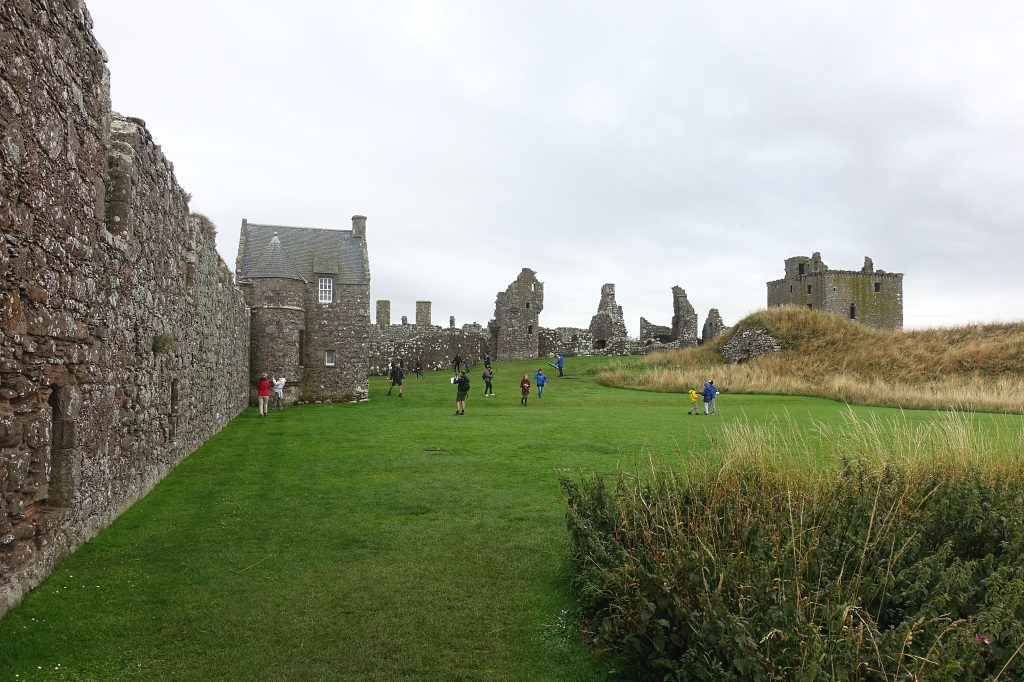Schottland mit Kindern: Dunnottar Castle