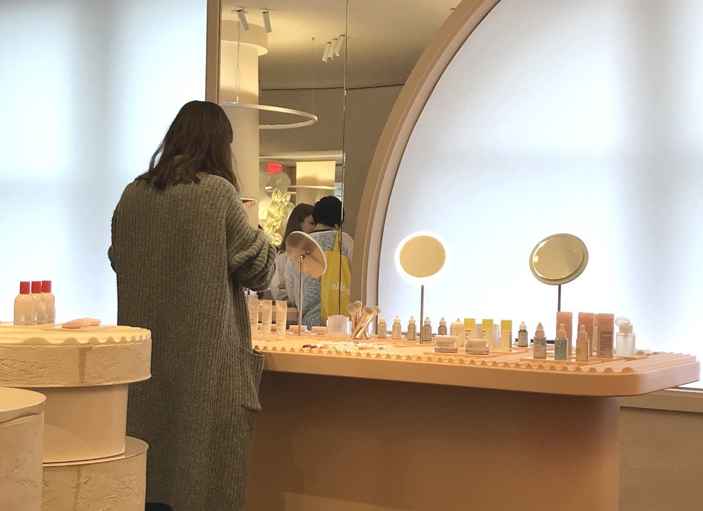 Glossier New York, SoHo