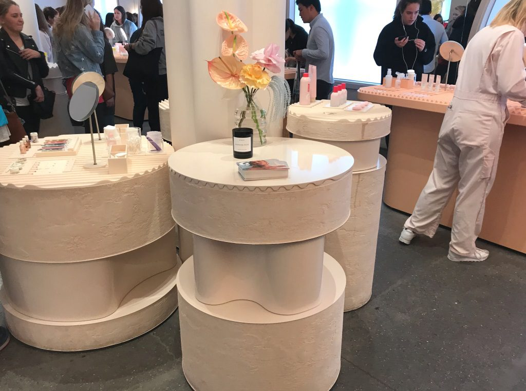 Glossier New York: Retail design