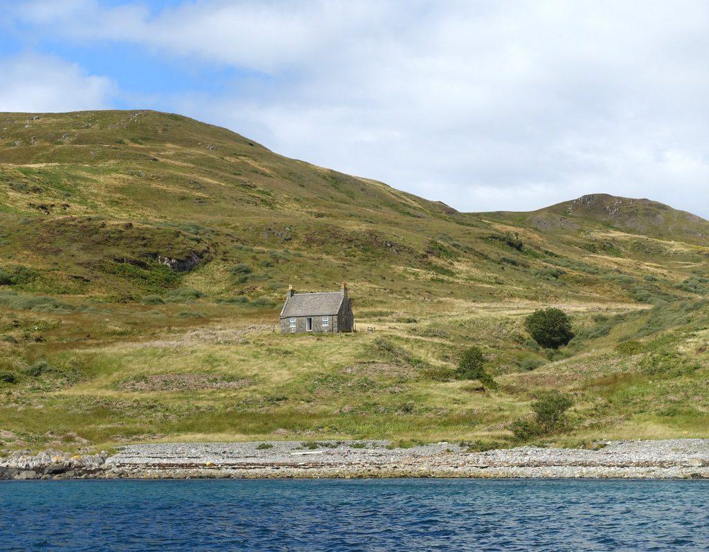 Bootstour an der Westküste von Schottland