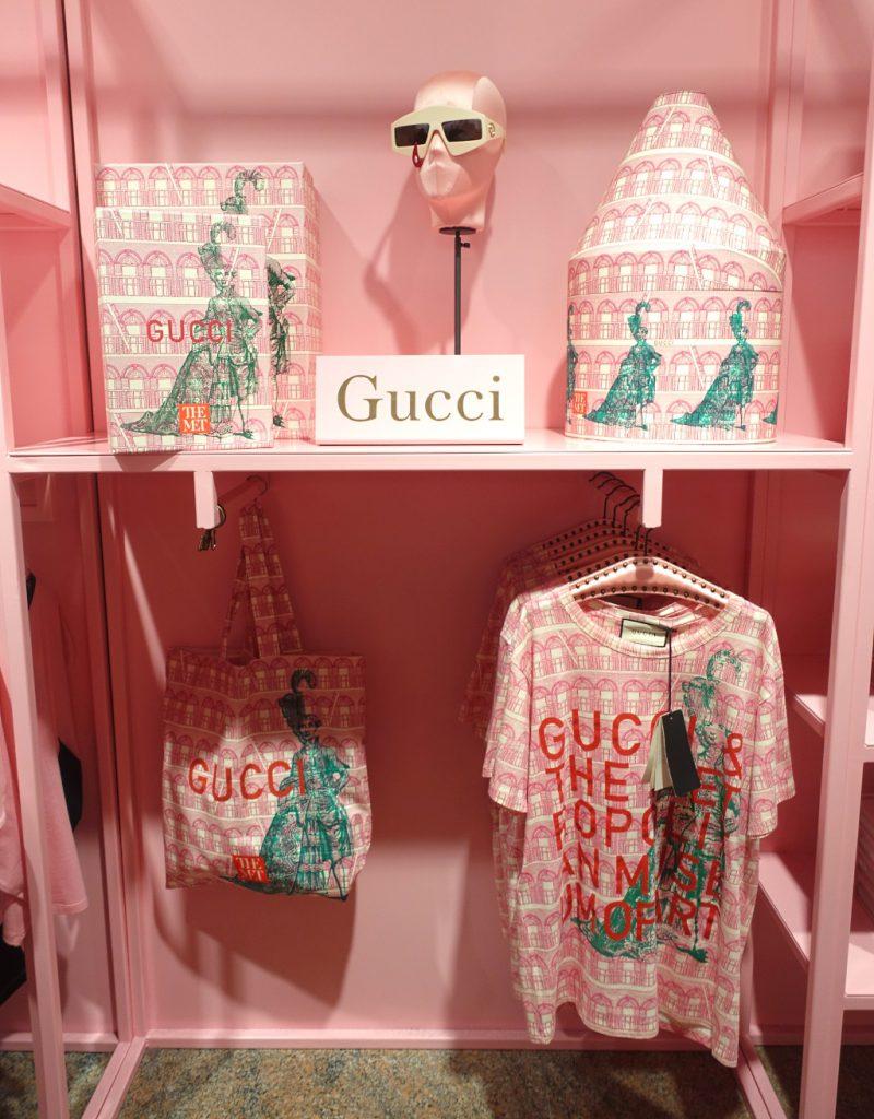 Gucci merchandise, Met NYC