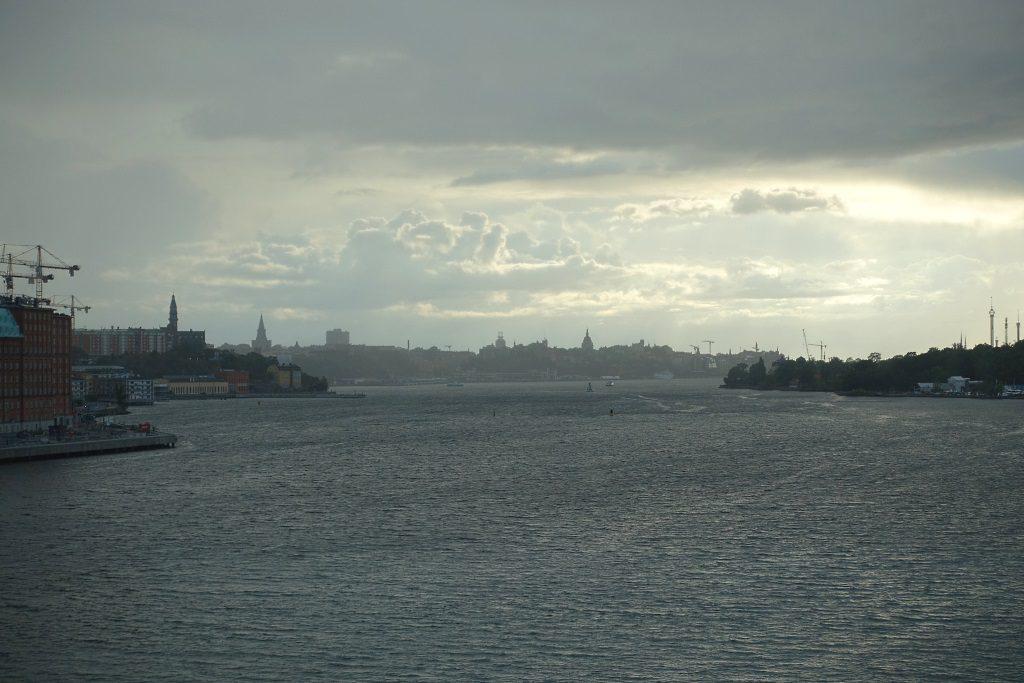 Stockholm vom Schiff aus