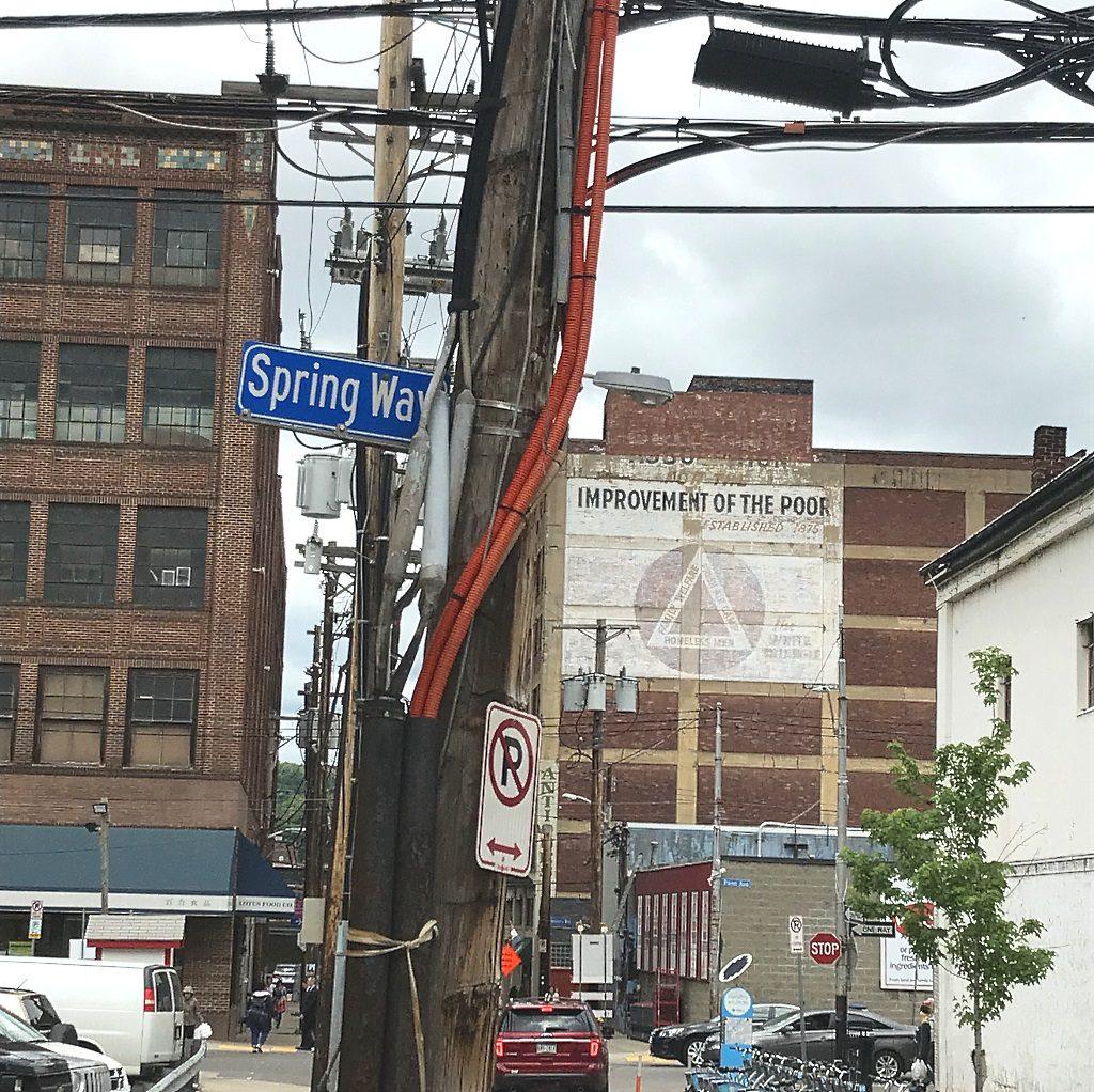 Urban poetry in Pittsburgh